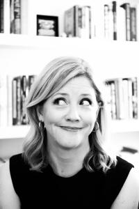 An awesome black and white headshot of an amused ML Philpott looking off camera to the left.